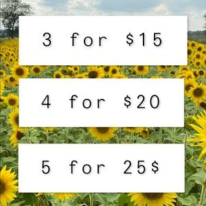 🌼 3 for 15$ 🌼